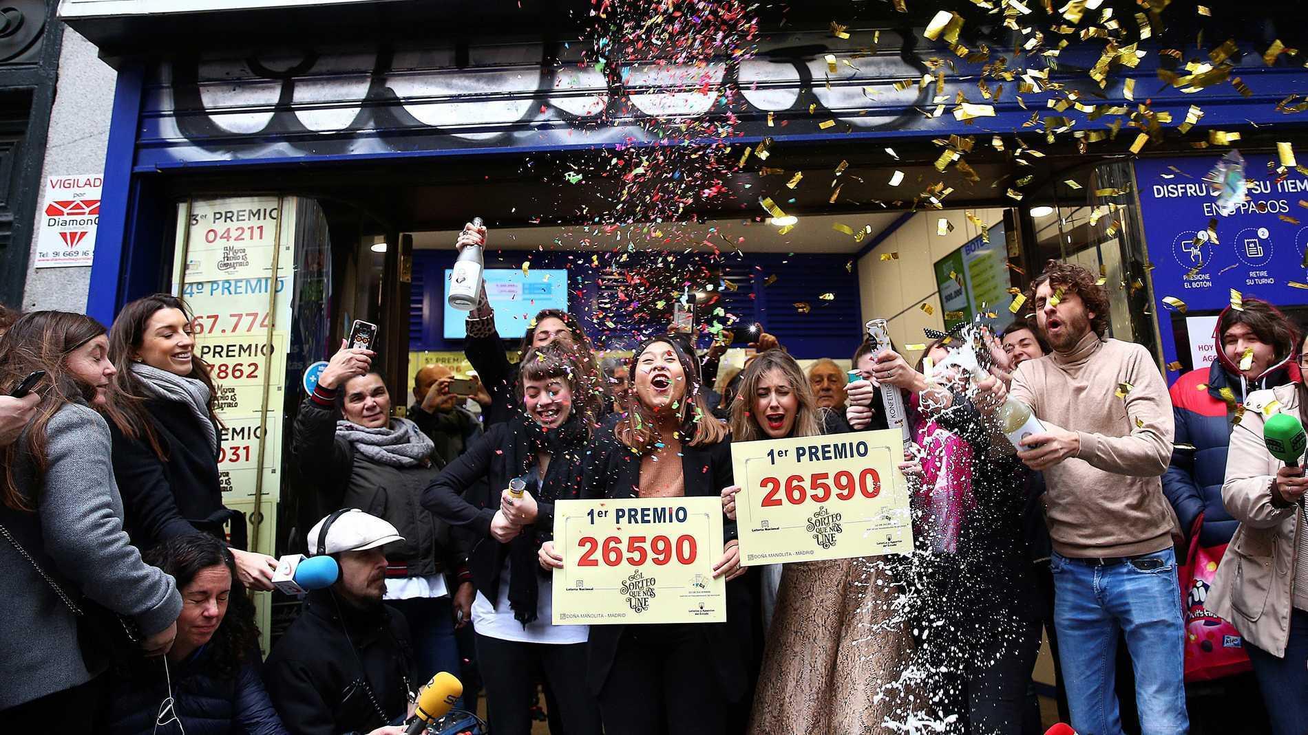 Loteria де navidad:  испанская рождественская лотерея   eurojackpot