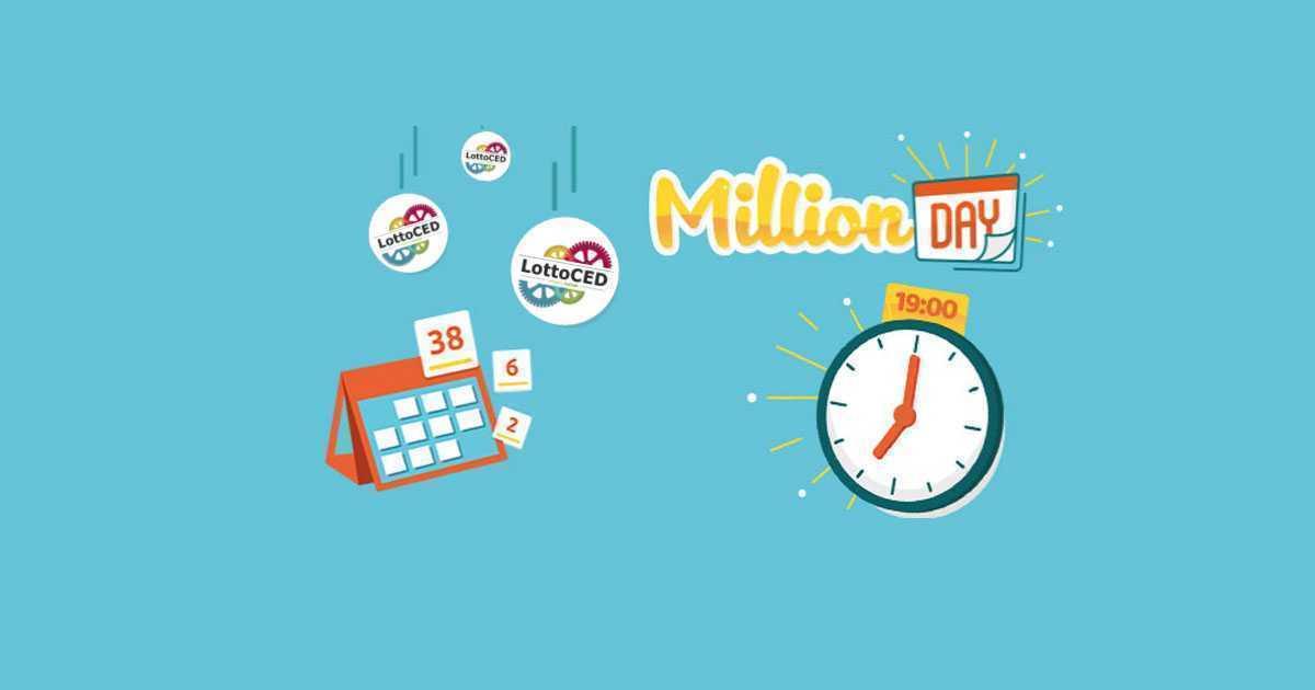 Estrazione million day (millionday) oggi 14 novembre 2020 alle 19   lottoced
