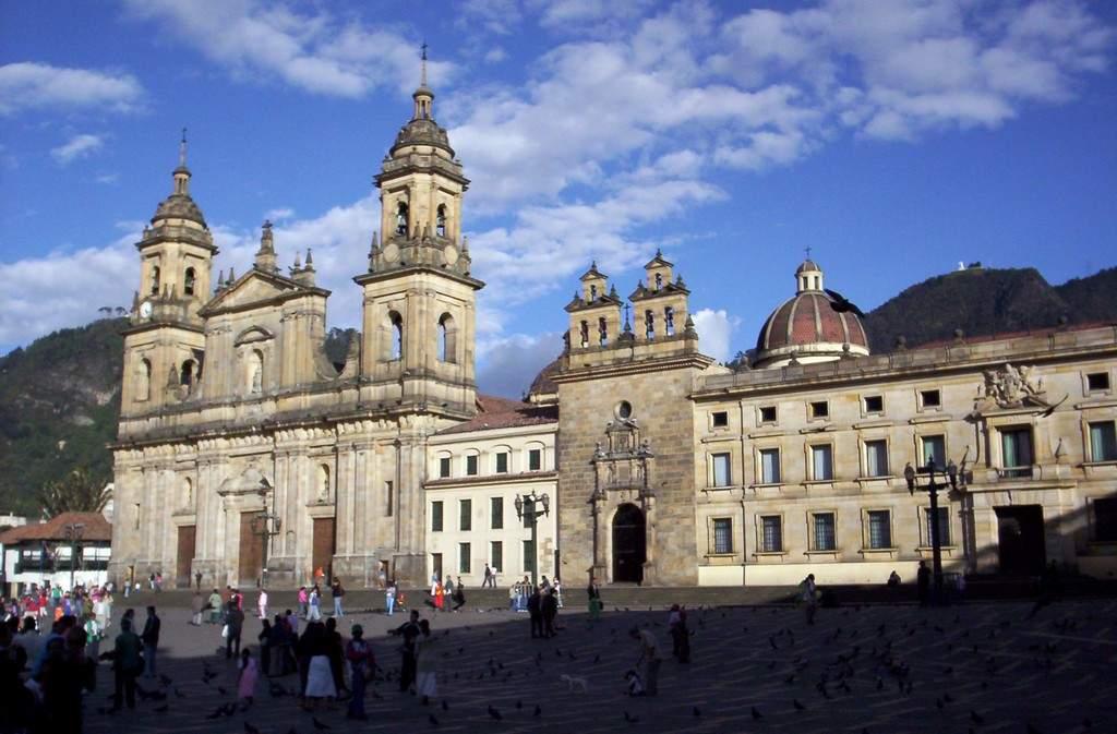 Bogota er en overraskende ubehagelig by i Colombia