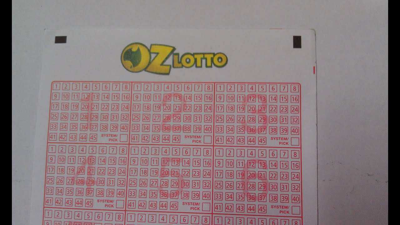 Oz lotto results nsw - oz lotto numbers - tuesday lotto results