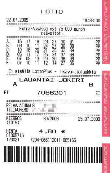 Romania lotto 6din49 number analysis