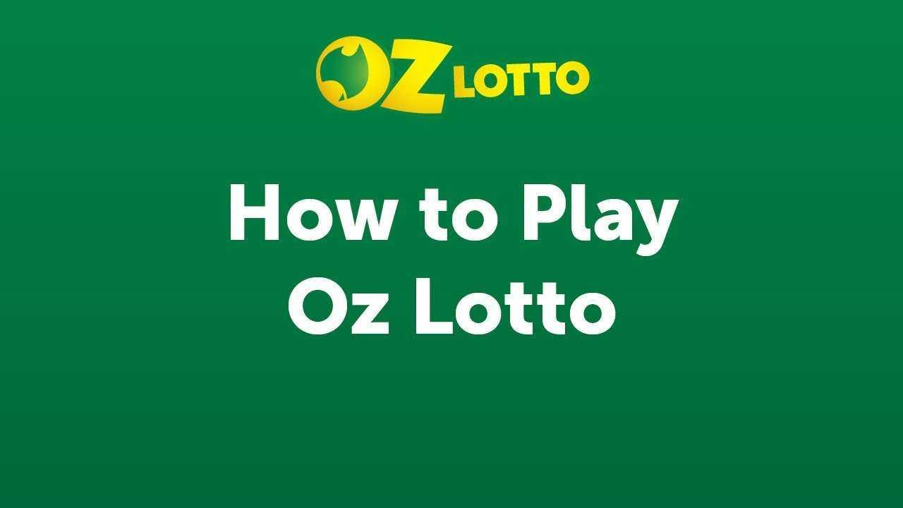 Oz lotto