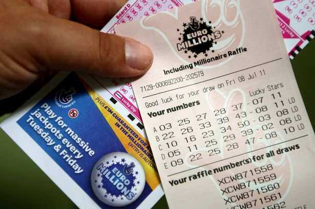 Euromillions results for friday 10th june 2016 - draw 910