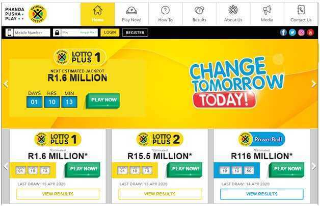 South africa – lotto