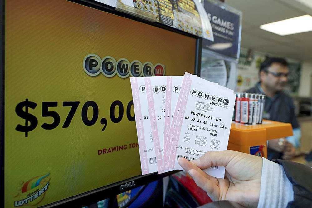 Online (official) tickets for usa lotteries in 2020