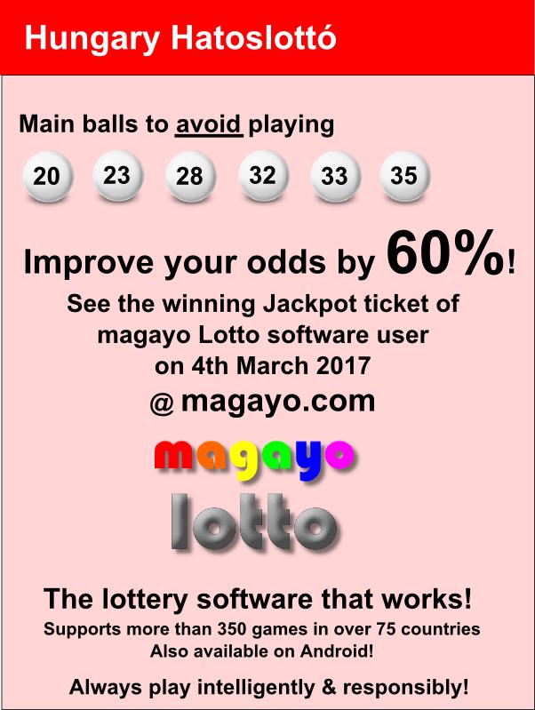 Hatoslottó (6 ös lottó) – nyerőszámok friss