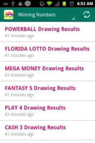 Never miss a powerball draw!
