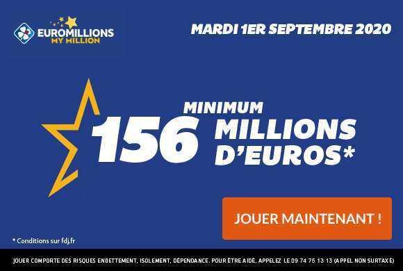 Résultat euromillions : tirage du vendredi 3 novembre 2017
