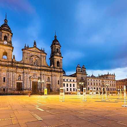 Bogota (hovedstaden i colombia) - Colombia - planetjorden