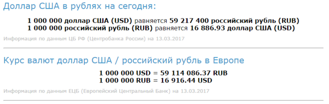 1000000000 долларов сша в рублях
