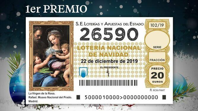 26590, el 'gordo' de la lotería de navidad 2019, loterнa navidad 2020