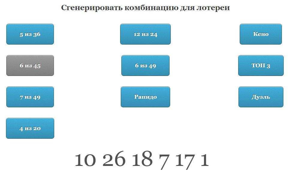Генератор случайных чисел онлайн для конкурса, розыгрыша, лотереи бесплатно | рандомайзер