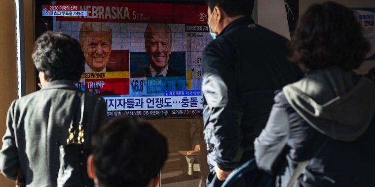 Выборы в сша глазами американских сми - трамп солгал о победе, что дальше?