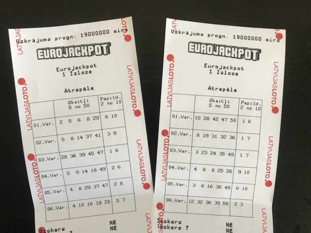 Статистика по победителям евромиллионы