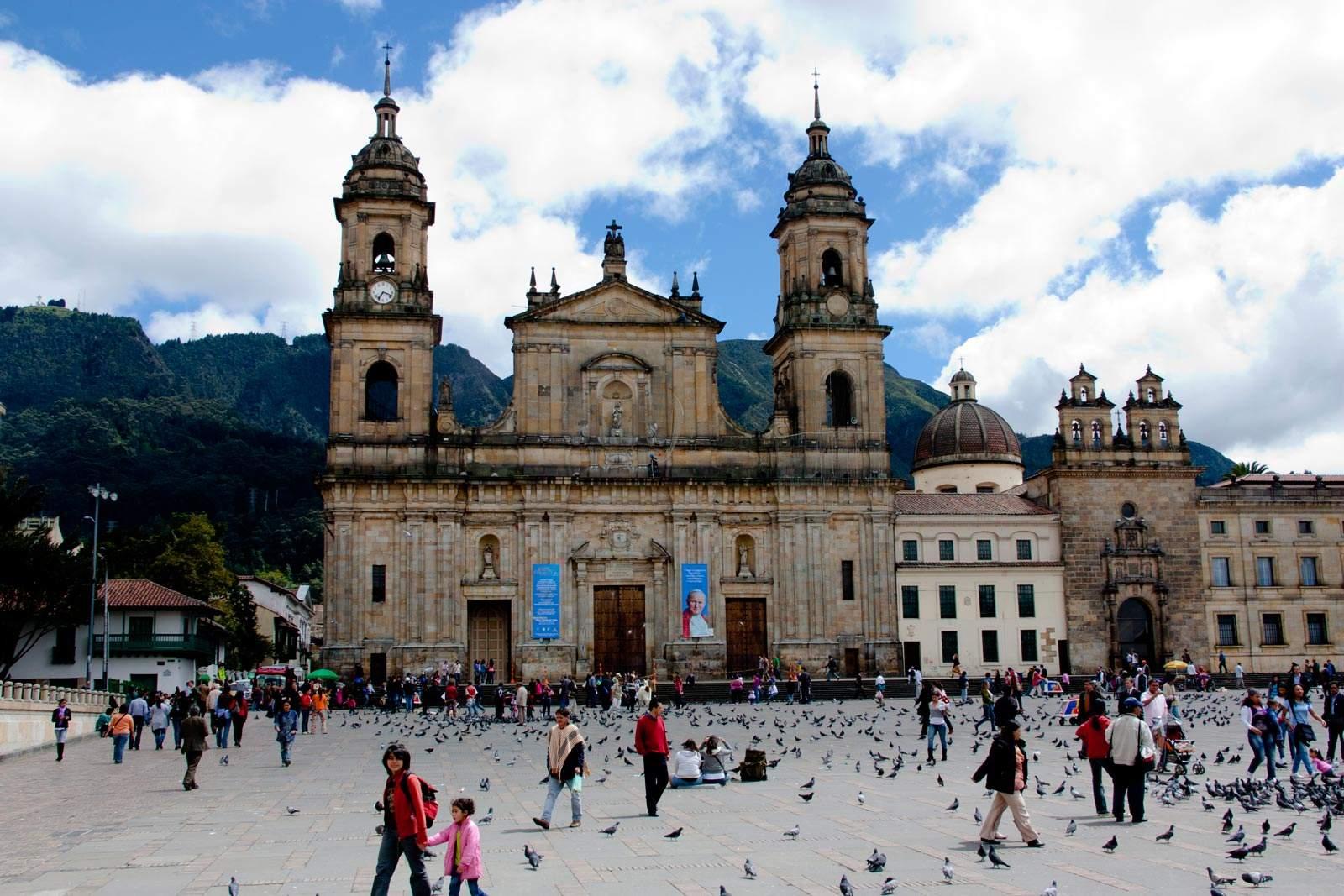 Hovedstaden bogotá er hjertet af den varme colombia