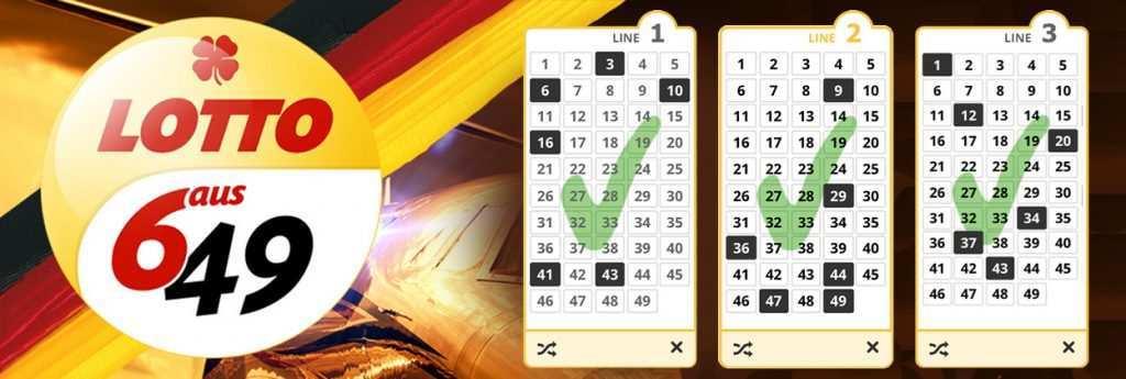 Lotto 6aus49 gewinnzahlen, preisvergleich, statistiken & archiv