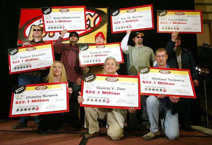 Самые большие выигрыши в истории лотереи